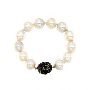 Bracciale con perle coltivate