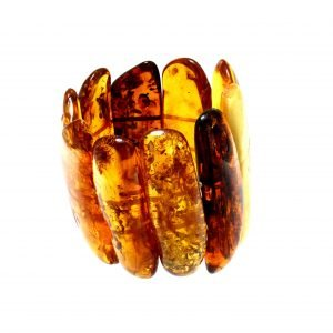 Bracciale di ambra del Mar Baltico