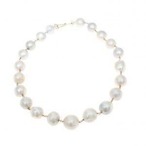 Collana di perle coltivate in acqua dolce