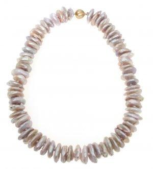 Collana di perle di acqua dolce