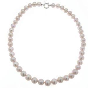 Collana di perle di mare coltivate in acqua dolce