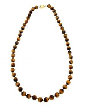 Tiger eye choker necklace